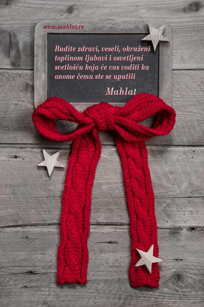 mahlat-čestitka